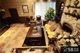 美式风格客厅装饰