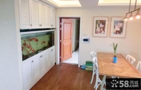 欧式风格小户型家居鱼缸玄关装修效果图大全