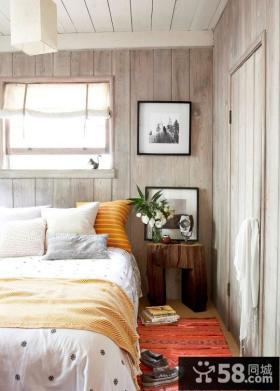 5万打造清新90平米三居欧式田园家居卧室