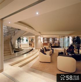 豪华别墅客厅装修效果图片