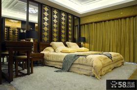 新古典中式卧室装潢设计