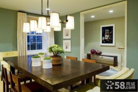 二室二厅装修效果图小餐厅装修效果图