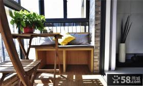 家庭设计阳台装潢案例