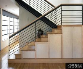 家装设计时尚楼梯效果图大全欣赏