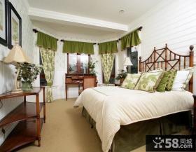 卧室窗帘壁纸效果图欣赏