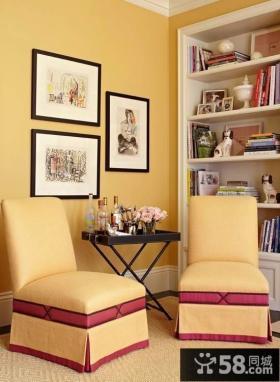 美式风格书房设计装修欣赏