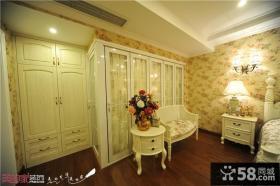 欧式卧室家具效果图片