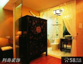 中式风格衣柜图片大全