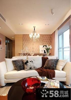 小客厅天花板吊顶装修效果图