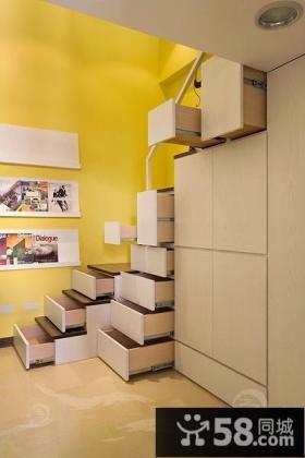 2013阁楼楼梯装修效果图