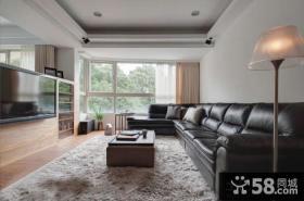 现代家庭设计客厅电视背景墙装修效果图欣赏