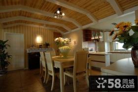 90平美式小户型餐厅装修效果图大全2012图片
