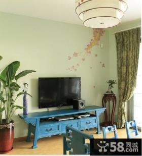 小户型客厅玄关装修效果图大全2014图片
