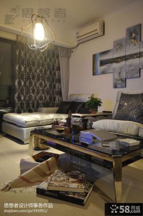 现代客厅沙发茶几图片大全