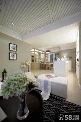 现代风格家庭样板房装修效果图