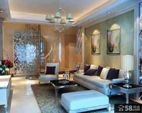 复式楼欧式客厅装修效果图欣赏