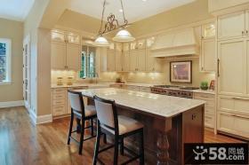 欧式室外装修厨房整体橱柜效果图
