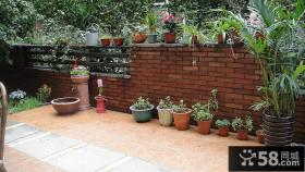 家庭室外阳台花园装修效果图