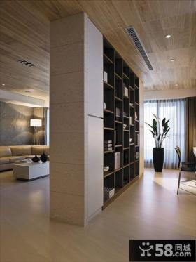 现代简约风格三室两厅设计效果图大全欣赏