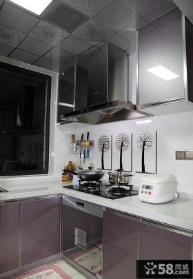 现代厨房橱柜设计效果图片