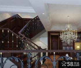 室内楼梯扶手图