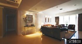 美式古典风格三居室家居设计效果图