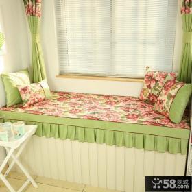 美式家居风格飘窗装修图片欣赏