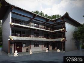 中式乡村别墅设计图