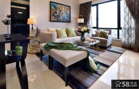 简约风格60平米小户型客厅隔断效果图