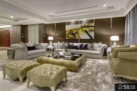 欧式豪华客厅装修图