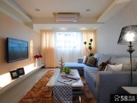 家居现代设计装修客厅电视背景墙欣赏