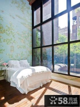 简欧风格豪华卧室窗户装修图片大全