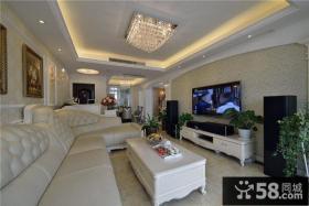 古典简欧复式家装设计