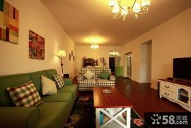 优质美式小户型室内客厅效果图片