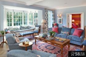 别墅客厅飘窗设计