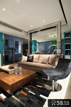 小户型现代客厅装修图
