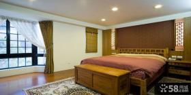 中式江南风格别墅卧室设计案例