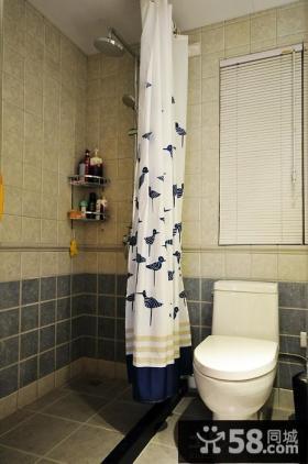 2014美式简约卫生间装修设计效果图