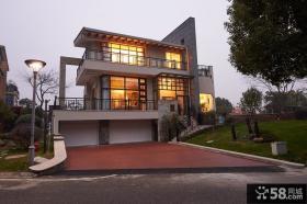 后现代风格设计别墅建筑装修图片
