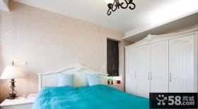 2013欧式田园卧室壁纸装修效果图