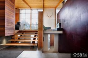 家庭错层楼梯设计图欣赏