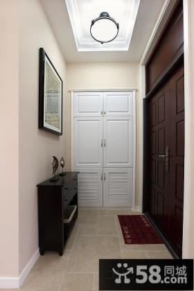 现代风格进门玄关挂画设计
