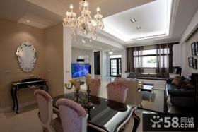 家装客厅纸面石膏板吊顶图片