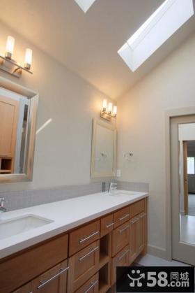 复式楼装修图片 现代卫生间装修效果图大全2012图片