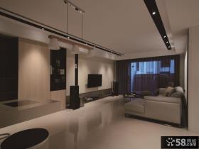 现代简约设计130平米四居装修图片
