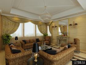 欧式简约风格卧室装修效果图大全2012图片 卧室吊顶装修图片