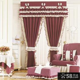 客厅窗帘效果图 欧式客厅窗帘效果图