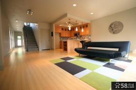 复式楼装修图片 现代客厅装修效果图大全2012图片