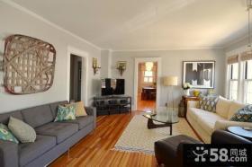 欧式风格客厅布置效果图片欣赏