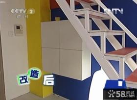 交换空间50平米小复式玄关鞋柜过道装修效果图